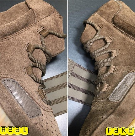 Real Vs Fake Yeezy Boost 750 Light Brown (Chocolate) 1