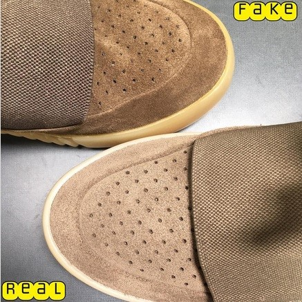 Real Vs Fake Yeezy Boost 750 Light Brown (Chocolate) 6