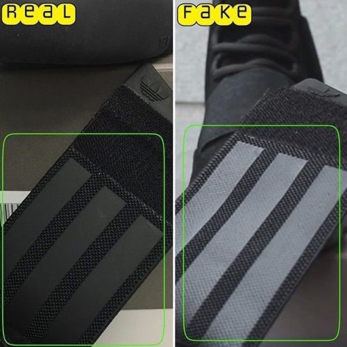 Real Vs Fake Yeezy Boost 750 Triple Black 4
