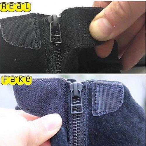 sale retailer a7c87 3b912 Real Vs Fake Yeezy Boost 750 Triple Black 5