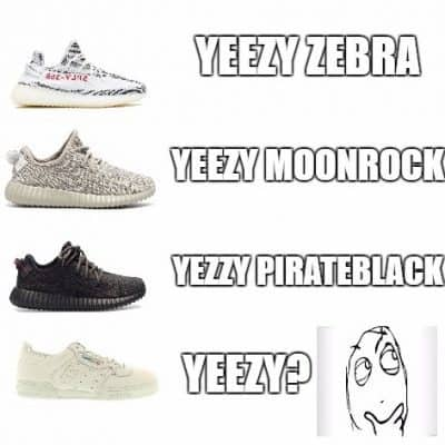 Yeezy powerphase memes