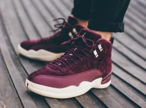 air-jordan-12-bordeaux-on-feet