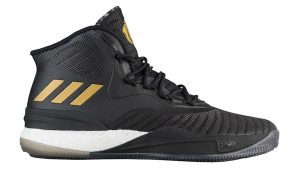 Adidas Rose D 8 Black Gold