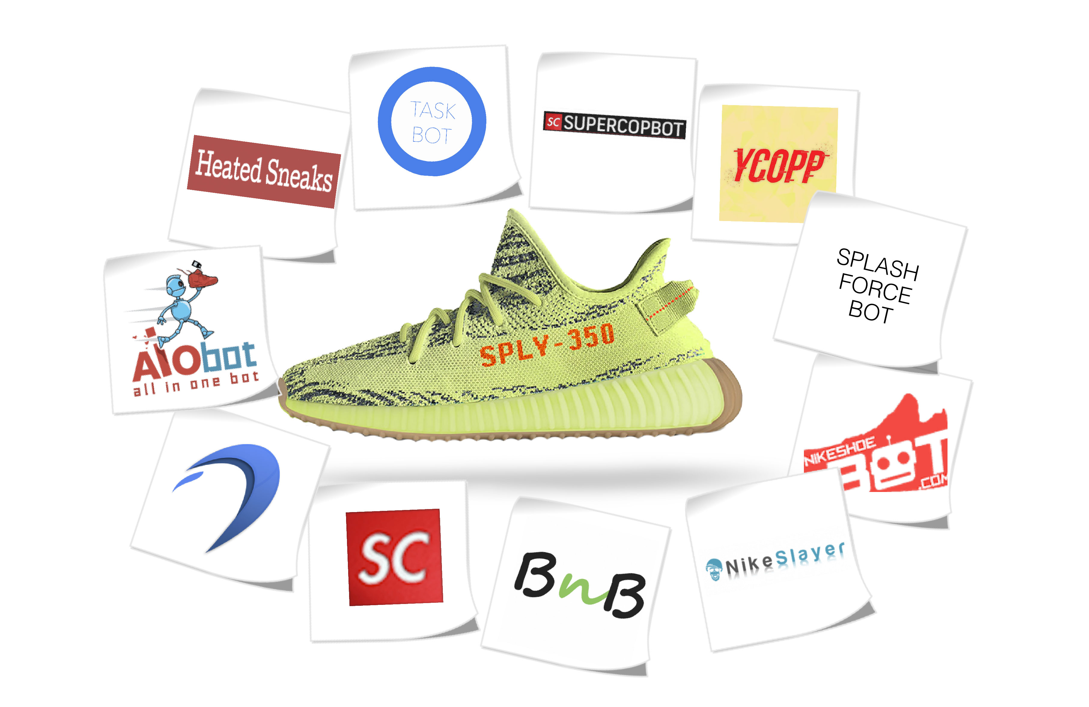 sneaker Bots and Semi Frozen Yellow